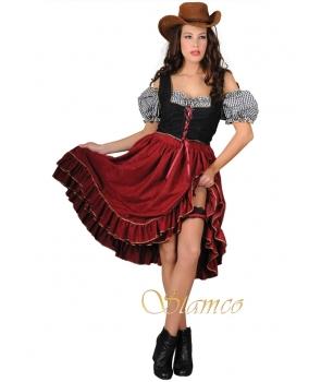 Costum carnaval femei sallon girl