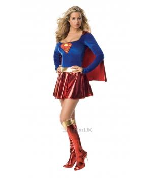 Costum carnaval femei Supergirl