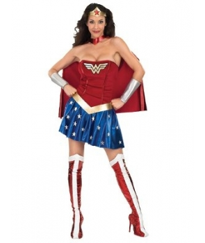 Costum carnaval femei Wonder Woman