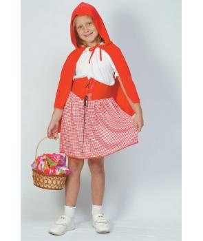 Costum carnaval fete Scufita Rosie model 1