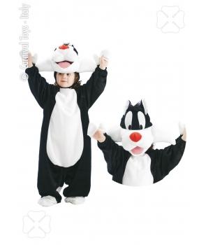 Costum carnaval copii Motanul Silvester
