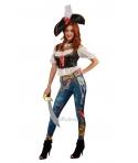Costum carnaval femei Pirata Booty