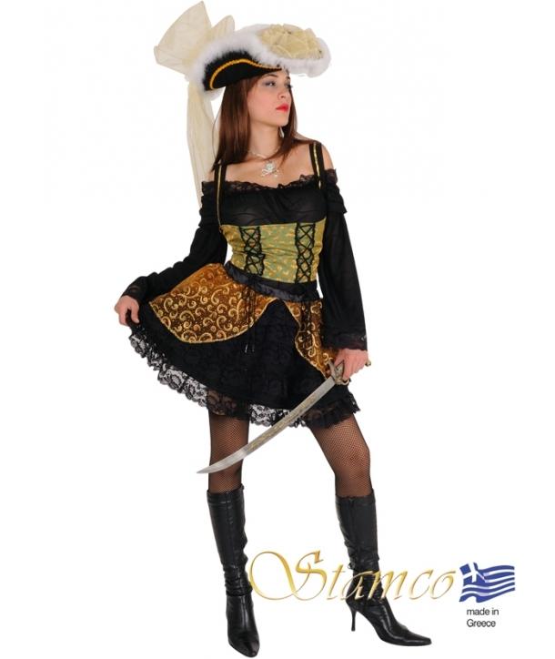 Costum carnaval Pirata neagra