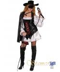Costum carnaval femei bandit