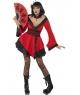Costum carnaval Gheisa rosie
