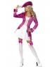 Costum carnaval Pirata roz