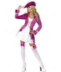 Costum carnaval femei Pirata roz