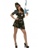 Costum carnaval Army girl