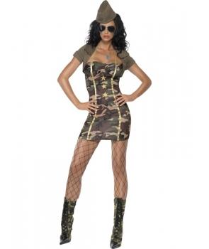 Costum carnaval femei Army