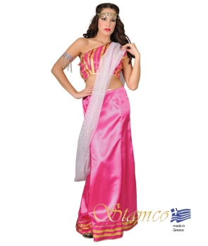 Costum carnaval femei Bollywood roz