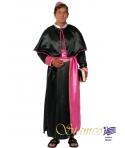 Costum carnaval barbati Cardinal negru