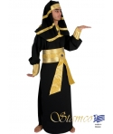 Costum carnaval barbati Faraon negru