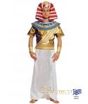 Costum carnaval barbati Faraon alb