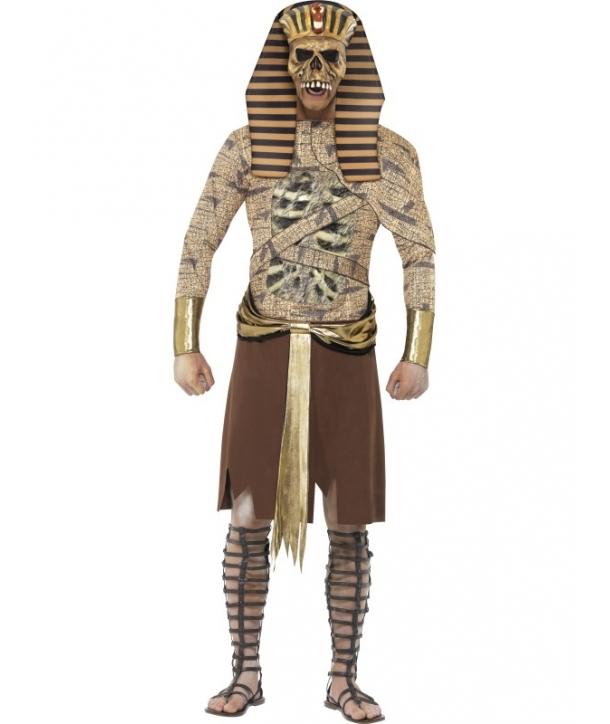 Costum Halloween barbati faraon zombie