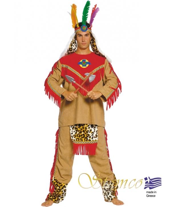 Costum carnaval barbati indian sef