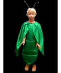 Costum carnaval copii greiere verde