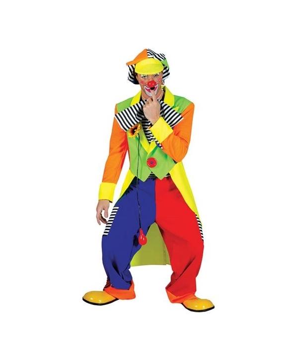 Costum carnaval adulti clovn cu palarie