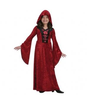Costum Halloween fete vampirita gothica