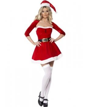 Costum Craciunita femei Santa Babe