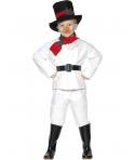 Costum Craciun copii Om de zapada model 1