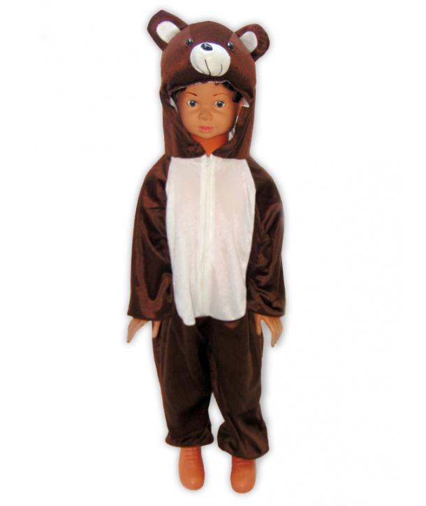 Costum carnaval copii urs maro