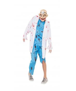 Costum Halloween barbati chirurgul nebun