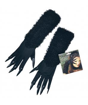 Manusi pisica cu unghii