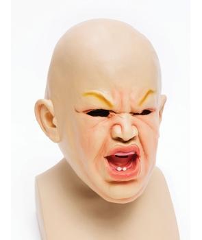 Masca de carnaval bebe furios