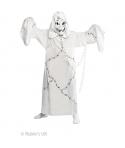 Costum Halloween baieti fantoma alba cu lant