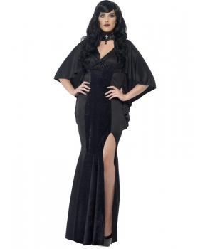 Costum Halloween femei vampirita neagra
