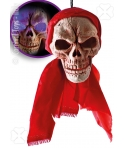Decor halloween craniu cu lumini