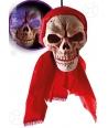 Decor craniu cu lumini Halloween