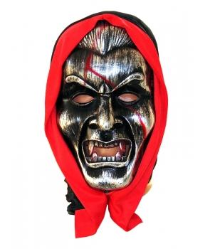 Masca Halloween vampir argintiu