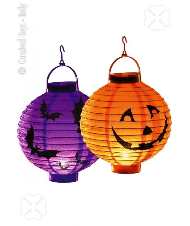 Decor lampioane cu lumina Halloween