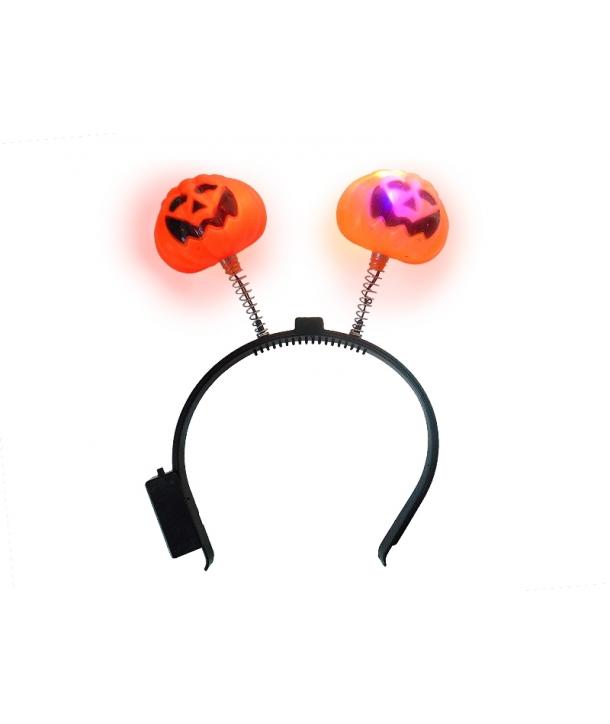 Bentita Halloween cu lumini dovlecel