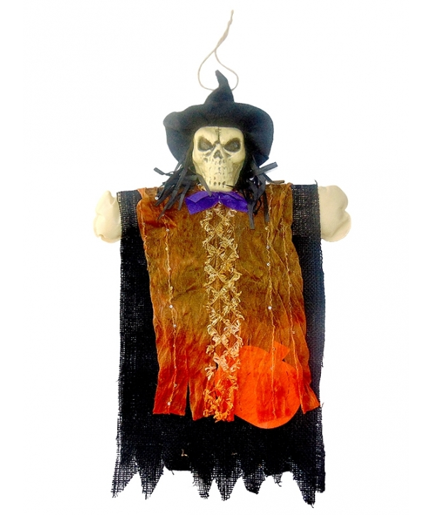 Decor Halloween panza negru