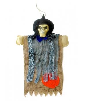 Decor Halloween schelet panza