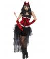 Costum Halloween femei diva demonica