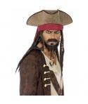 Palarie pirat cu plete