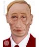 Masca carnaval Vlady Putin