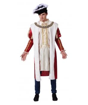 Costum carnaval barbati rege de lux