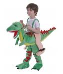Costum carnaval copii dinozaur verde