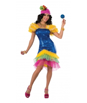 Costum carnaval femei Cha Cha