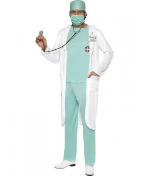 Costum carnaval adulti doctor