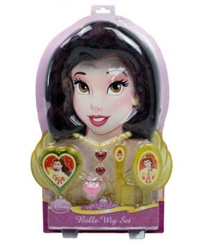 Set peruca si accesorii Disney printesa Belle