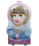 Set peruca si accesorii Disney printesa Cenusareasa