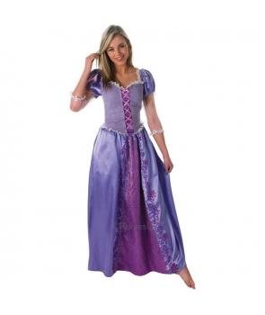 Costum carnaval femei Rapunzel cu licenta
