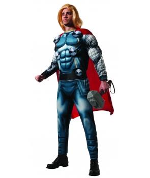 Costum carnaval adulti Thor cu licenta