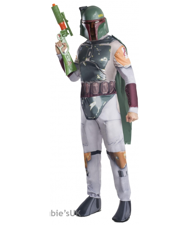 Costum carnaval barbati Star Wars Boba Fett