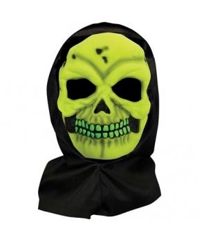 Masca hallowen schelet verde